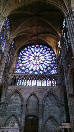 The Cathedral Basilica of Saint Denis | ... windows - Picture of Basilica Cathedral of Saint-Denis, Saint-Denis