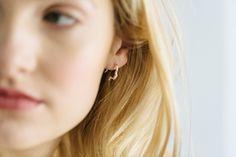 Silver Mini Silhouette Earrings