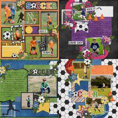 GingerScraps :: Alphas :: Soccer Time - Alpha Pack AddOn