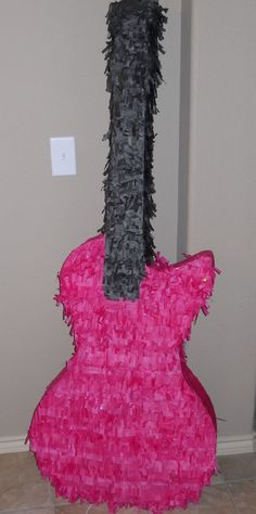 Guitar pinata.. entry.. backslash.. 'rock star' center piece