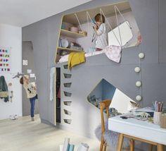 Créer deux chambres d'enfant dans une seule pièce | Leroy Merlin