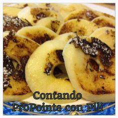 Contando propoints con Pili: PAN CAKES DE MANZANA ADAPTADO A LOS PROPOINTS
