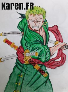 Fan ARt de Roronoa Zoro (One Piece)