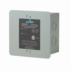 Leviton 51120-1 Panel Mount Whole Home Surge Protector and Supressor  Item# 4860  In Stock - Ships Today    128 customer ratings  Add to Wish List  Add to Compare            Price: Normally $229.99   Hot Deal $175.99