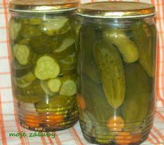 moje záľuby...: Zavárané uhorky Pickles, Cucumber, Canning, Food, Home Canning, Eten, Pickle, Pickling, Cauliflower