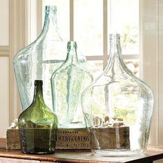 Love glass bottles