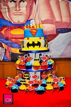 mommylovesarmil's Birthday / Justice League - Photo Gallery at Catch My Party Birthday Bash, Birthday Parties, Superhero Party, I Party, Justice League, Disney Characters, Blue Prints, Birthday Celebrations, League Of Justice