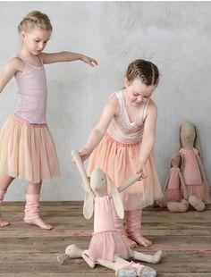 8aa0bd708d86 Ballerinakjol aprikos rosa för barn Maileg Söner, Far Och Son, Mjukdjur,  Tyger,