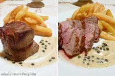 Steak z vepřové panenky, domácí hranolky, pepřová omáčka Steak, Food And Drink, Foods, Roast Beef, Food Food, Food Items, Steaks, Beef