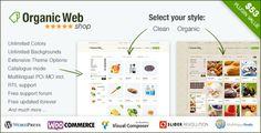 Organic Web Shop - An Organic and Responsive WooCommerce Food, Farn and Eco Theme