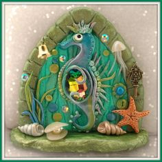Check out this item in my Etsy shop https://www.etsy.com/listing/224656033/fd416-sea-horse-fairy-door