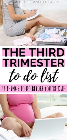 The third trimester to do list. A checklist for pregnancy moms. 11 things you . - The third trimester to do list. A checklist for pregnancy moms. 11 things you need to do to prepa - to do liste Pregnancy Goals, First Pregnancy, Pregnant Couple, Pregnant Mom, Pregnancy Information, Baby Care Tips, Preparing For Baby, Before Baby, Third Trimester