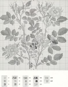 Gallery.ru / Фото #15 - Flowers and Berries in Cross Stitch - Mosca