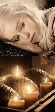 """He told me the moon was an egg, Khaleesi,"" the Lysene girl said. ""Once there were two moons in the sky, but one wandered too close to the sun and cracked from the heat. A thousand thousand dragons poured forth, and drank the fire of the sun. That is why"