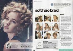 Halo braid tutorial