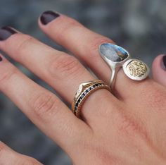 Mixed metals and black diamonds