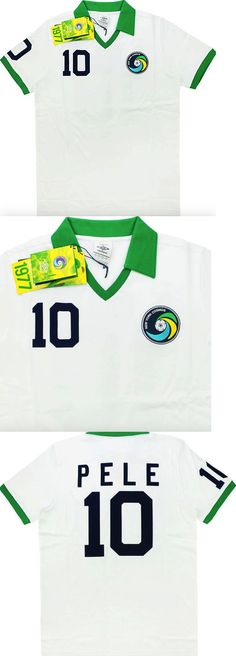 bd3239c93 Clothing 21218  New York Cosmos  Pele  10  1977 Re-Issue Home