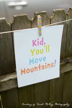 """Oh, The Places You'll Go!"" First Birthday Party by Al Di La Events - Party Signs, Dr. Seuss"
