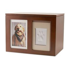 Pet Memory Box with Paw Print Kit