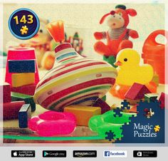 I've just solved this puzzle in the Magic Jigsaw Puzzles app for iPad. Image Storage, Ipad, Puzzle Board, Google Play, Dinosaur Stuffed Animal, Toys, Jigsaw Puzzles, Cheese Soup, Animals
