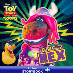 """What up Fishes?!"" PartySaurus Rex eBook Now Available on iTunes"