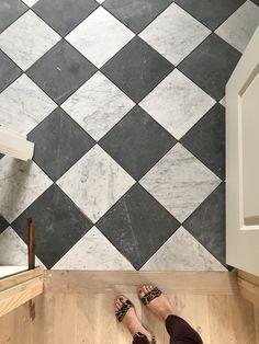 The Sunday Our Own Catalog and Syd's Birthday Studio McGee Küchen Design, Floor Design, House Design, Foyer Flooring, Kitchen Flooring, Entryway Tile Floor, Lisa's Kitchen, Nordic Kitchen, Entry Hallway