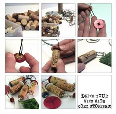 Indie Fixx » Blog Archive Tuesday Tutorial: Make Christmas Tree Ornaments from All Those Cork Wine Stoppers You've Been Collecting » Indie F...