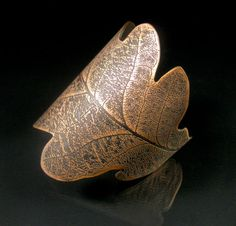 Oak Leaf Cuff -etched copper - I'm going to have to make this!