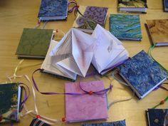 Lunar New Year folded wishing books