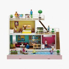Maison de poupée Stockholm Lundby : Fille Lundby - Le Bon Marché Rive Gauche