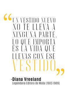 Diana Vreeland, legendaria editora de moda. - El Palacio de Hierro