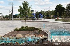 landscape overpass intersections flooded land - Google Search