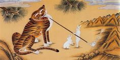 korean tiger and rabbit story - Google Search