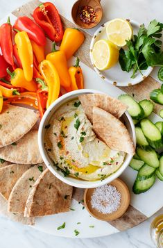 Learn how to make baba ganoush with the BEST baba ganoush recipe! With just 6 ingredients, it's an easy, delicious healthy snack! We love it with lots of pita and veggies. | Love and Lemons #eggplant #hummus #healthysnacks #cleaneating