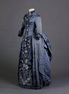 Dress, Blanche Boucher, 1880's.