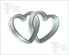 hearts interlinked clip art - Google Search