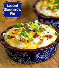 Loaded Sheperd's Pie!