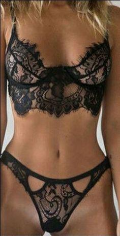 ec7374b0ea sexy lingerie hot black lace temptation 3 point Micro Bikini lingerie set  sexy costume women lenceria sexy sleepwear plus size - TakoFashion - Women s  ...