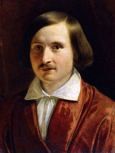 Fyodor Moller. Portrait Of Nikolai Gogol. 1840. Oil on canvas.