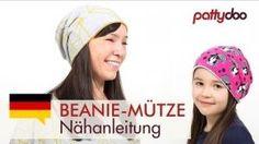 <3 ** Beanie Mütze Gr. 46-64 °° Freebook inkl. Video-Tutorial, auch als Wendebeanie und als Beanie ohne Naht am Mützenrand