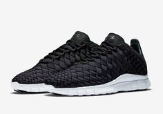The Nike Free Inneva Woven Returns In Classic Black/White - SneakerNews.com