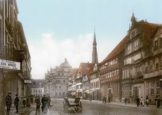 Hameln um 1900, Osterstraße