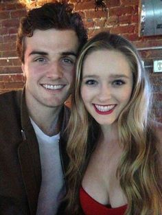 Beau Mirchoff and Greer Grammer