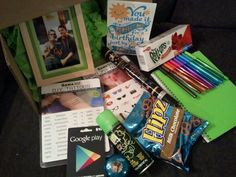 Awesome birthday package for 9 year-old kid
