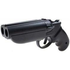 Goblin Deuce - Double-barreled airsoft and paintball gun Rifles, Weapons Guns, Guns And Ammo, Survival, Paintball Guns, Double Barrel, Fire Powers, Home Defense, Cool Guns