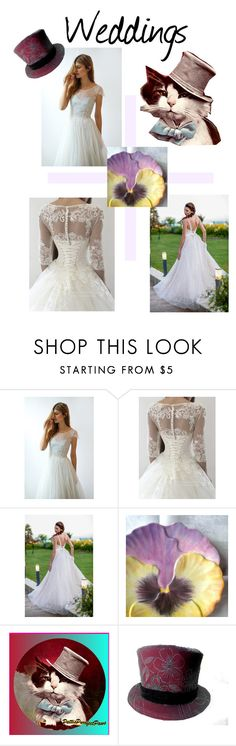 """""""Weddings"""" by catfabricsandbuttons ❤ liked on Polyvore"""