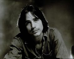 Jackson Browne. Had this poster on my bedroom wall above my bed. I was thirty - just kidding.