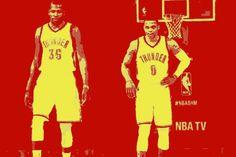 #Durant #Westbrook #OKC #ThunderUp #Warriors #DubNation #RusselWestbrook #KevinDurant Durant and Westbrook breakup - https://nba-scholar.deviantart.com/art/Durant-and-Westbrook-breakup-666184164