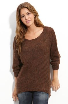Pretty excited for a casual occasion to wear this soft and comfy sweater. Leggings, long necklace and boots? Yes please!