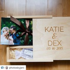 #Repost @photosbyjeni with @repostapp. #PresentationMatters ・・・ Thanks @photoflashdrive for making me look so good to my #PBJbride couples! #usb #customwoodencase #printyourphotos